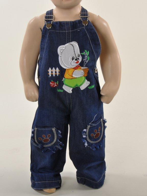 Комбинезон детский из джинс своими руками