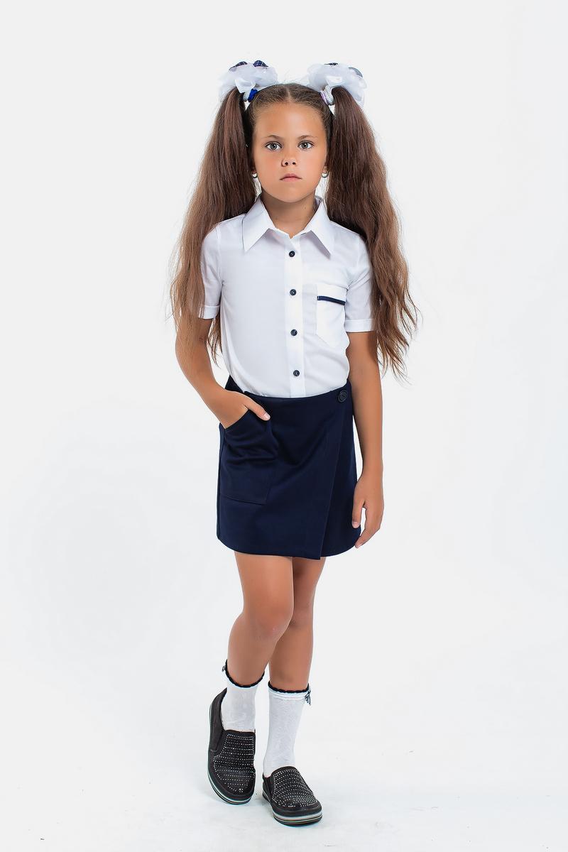 Школьная рубашка 113165/1 белый