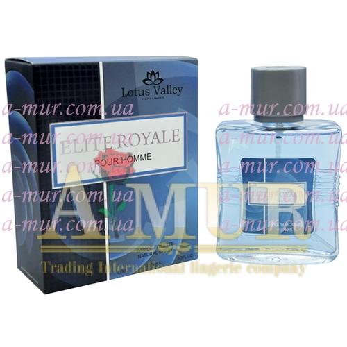 Туалетная вода для мужчин Lotus Valley Elite Royale 100мл (MM32121)